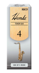 Hemke Tenor Sax Reeds, Strength 4.0, 5-pack