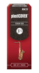 Rico Plasticover Tenor Sax Reeds, Strength 3.5, 5-pack
