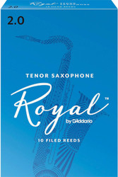Rico Royal Reeds Tenor Sax 10-Pack 2.0 (7R2)