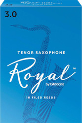 Rico Royal Reeds Tenor Sax 10-Pack 3.0 (7R3)