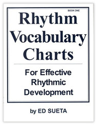 M401 - Rhythm Vocabulary Charts for Effective Rythmic Development - Book 1