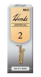 Hemke Baritone Sax Reeds, Strength 2.0, 5-pack