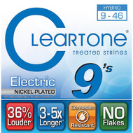Cleartone Nickel-Plated Electric 9-46 Hybrid (9419)