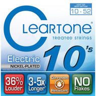 Cleartone Nickel-Plated Electric 10-52 Light Top Heavy Bottom (9420)
