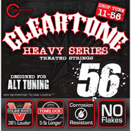 Cleartone Electric .011-.056 Drop D Strings