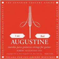Set Augustine Classic Red Regular Trebles/High Tension Basses (A1210)