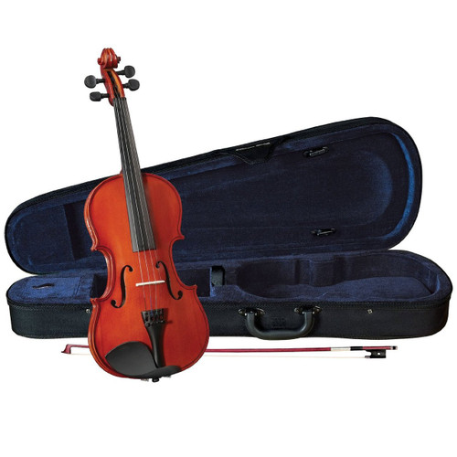 Anton Breton AB-05 Full Size Violin Outfit,Traditional Red