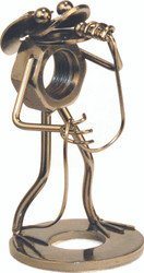 Nuts & Bolts Singing Frog Figurine with Microphon