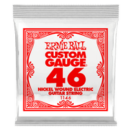 Single Ernie Ball Nickel Wound Electric Guitar .046 (B1146) Packaging Front