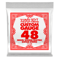 Single Ernie Ball Nickel Wound Electric Guitar .048 (B1148) Packaging Front