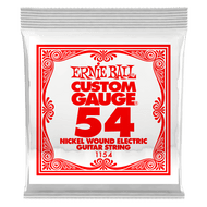 Single Ernie Ball Nickel Wound Electric Guitar .054 (B1154)