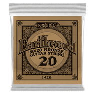Ernie Ball Earthwood 80/20 Bronze .020 6-Pack (B1420)
