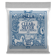 Ernie Ball Ernesto Palla Nylon Clear & Silver