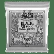Ernie Ball Ernesto Palla Nylon Black & Silver