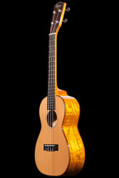 Ohana Concert Ukulele Solid Cedar Top Willow Back and Sides (CK50WG)