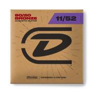 Dunlop 80/20 Bronze 11-52 Medium/Light (DAB1152)