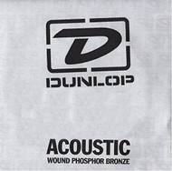 Dunlop 40 Wound Phosphor Bronze Acoustic Guitar String (DAP40)