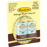 Danelectro 9 Volt Battery Pack of 2