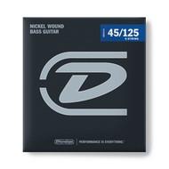 Dunlop Bass Strings Nickel Wound Medium 45/125 5-String Set (DBN45125)