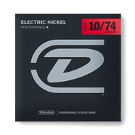 Dunlop Electric Nickel Performance+ 10/74 Light (DEN1074) Package Front