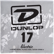 Dunlop 17 Electric Wound Nickel Plated Steel Guitar String (DEN17)