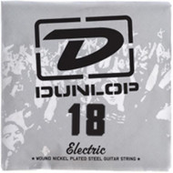 Dunlop 18 Electric Wound Nickel Plated Steel Guitar String (DEN18)