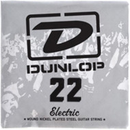 Dunlop 22 Electric Wound Nickel Plated Steel Guitar String (DEN22)