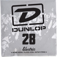 Dunlop 28 Electric Wound Nickel Plated Steel Guitar String (DEN28)