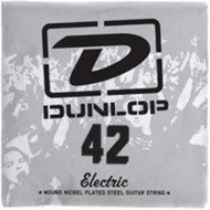 Dunlop 42 Electric Wound Nickel Plated Steel Guitar String (DEN42)