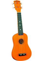 Diamond Head DU-103 Rainbow Soprano Ukulele Orange