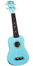 Diamond Head DU-106 Rainbow Soprano Ukulele Light Blue