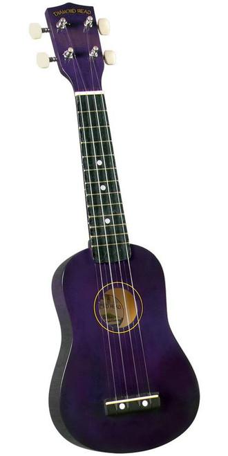 Diamond Head DU-108 Rainbow Soprano Ukulele Purple