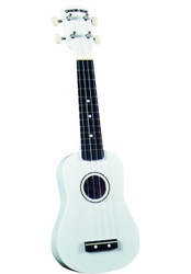 Diamond Head DU-109 Rainbow Soprano Ukulele White