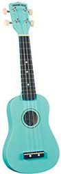 Diamond Head DU-116 Rainbow Soprano Ukulele - Turquoise