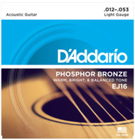 Set D'Addario Phosphor Bronze 12-53 Light EJ16