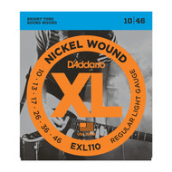 D'Addario Nickel Wound Electric 10-46 Regular Light (EXL110) Package Front