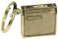 Harmony Jewelry Mesa Boogie Guitar Amplifier Keychain Gold