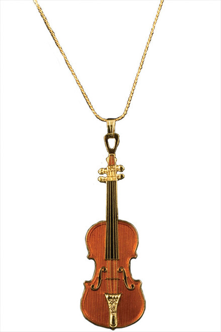 Stradivarius Violin Necklace