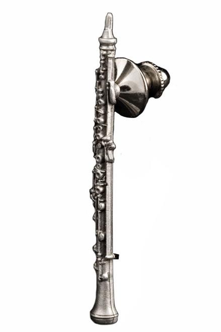 Oboe Pin - Pewte