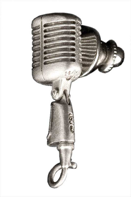Harmony Jewelry Shure 55SH Microphone Pin - Pewter (FPP581PW)