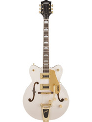 Gretsch G5422TDCG Electromatic Hollow Body Electric Guitar - Snow Crest White