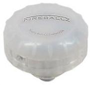 Fireballz Vibration Sensitive LED Cymbal Nut White Lightning (FX14WL)