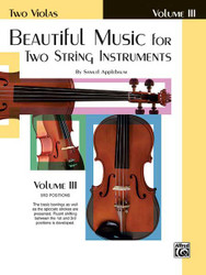 Beautiful Music For Two String Instruments, Book Iii 2