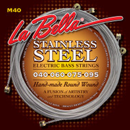 LaBella Stainless Steel Round Wound 40-95 Extra Light (M40)