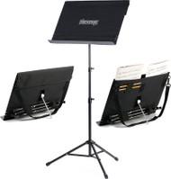 Portastand Troubadour 2.0 Portable Music Stand Black (PAS-TB-BLK)