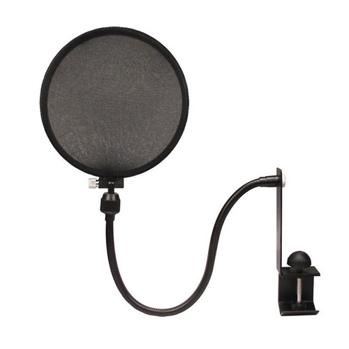 Nady Microphone Pop Filter with Boom/Stand Clamp (SPF-1)