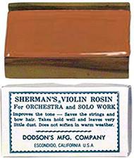 Sherman's Bow Rosin Violin Light (SR1)