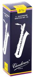 Vandoren Bari Sax Traditional Reeds 5-Pack 3.5 (SR2435)