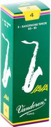 Vandoren Tenor Sax Java Reeds 5-Pack 4 (SR274)