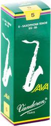 Vandoren Tenor Sax Java Reeds 5-Pack 5 (SR275)